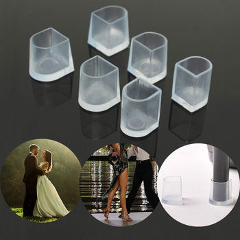 50 Pairs / Lot EXPfoot Heel Protectors High Heeler Silicone Heel Stoppers Covers Shoes Stoppers For Grass Bridal Wedding Party фото