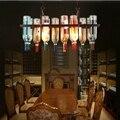 LukLoy Vine кулон в виде бутылки Светодиодные светодио дный светильники светодио дный для кухни Светодиодные лампы подвесной светильник Потоло...
