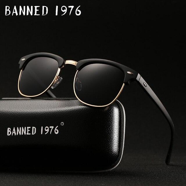 UV400 HD поляризованные Мужчины Женщины Солнцезащитные очки классический Мода ретро брендовые солнцезащитные очки покрытие Drive оттенки gafas-де-сол masculino