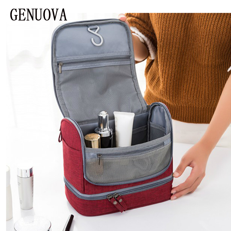 Travel Scrub Wash Cosmetic Tote Men and Women Waterproof Bath Bag Travel Portable Make Up Bags Travel Organizer Storage Pouch