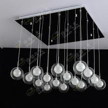 Klassische Mode Glas Blase Lampe Spezielle Transparent Einfache LED Wohnzimmer Beleuchtung Kreative Kunst