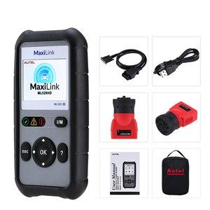 Image 5 - Autel MaxiLink ML529HD Strumento di Scansione Modalità Avanzata 6 OBD2 Auto Lettore di Codice Heavy Duty Strumento di Diagnostica Utilizzando SAE J1939 SAE J1708