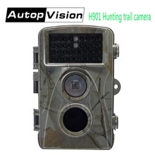Best price H901 Hunting Trail Camera 0.2S Trigger Time Digital Scouting Hunting Camera 12MP Night Vision Infrared Waterproof Trail Cameras