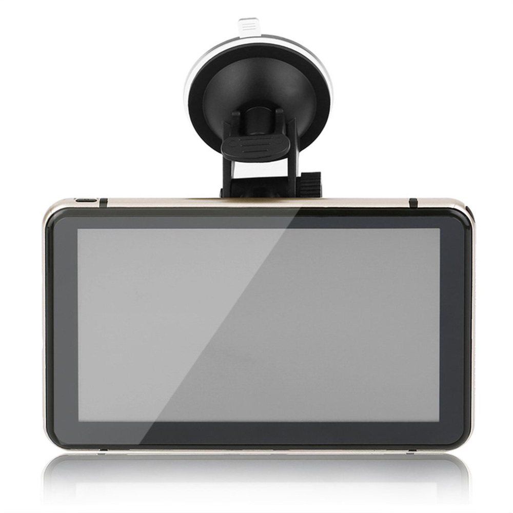 все цены на  7 Inch Car GPS Pianet Navigation Vehicle Traveling Data Recorder Smart Support Rear View Camera For Android Bluetooth WIFI  онлайн