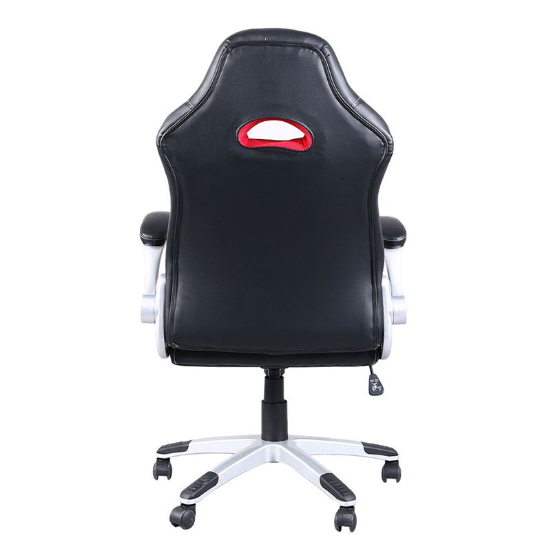 Comfortable Office Chairs For Gaming Bumbo Chair Age Red Black Pu Leather High Back Swivel Rotating Lift Soft Sku 32921870023