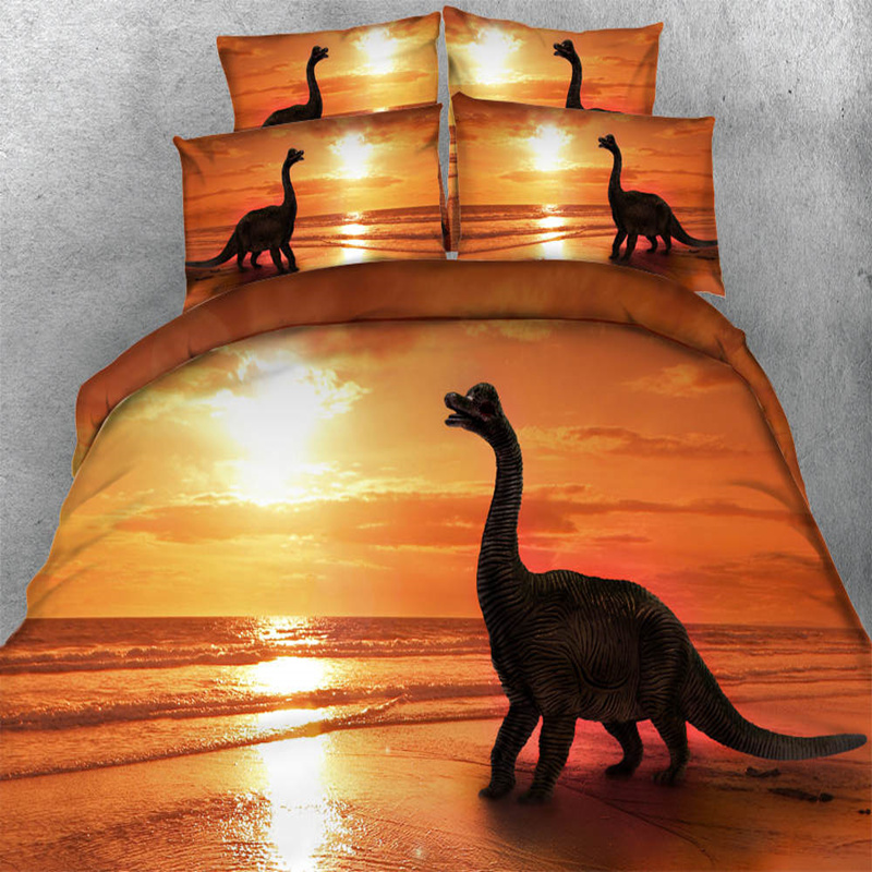 3d Dinosaur Bedding Sets Adult Sea Animal Duvet Cover Bed