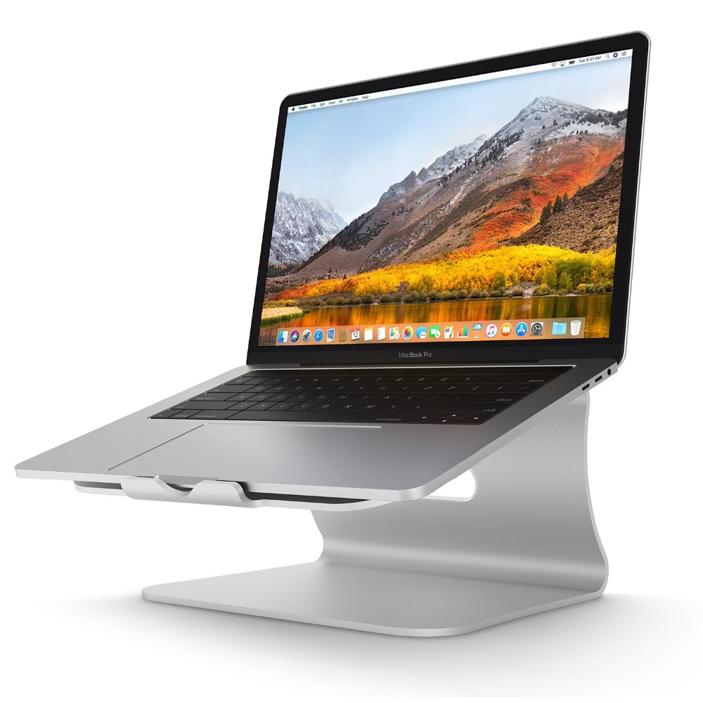 Laptop Stand Aluminum Cooling for Macbook Stand, Holder for Apple Macbook Air, for Macbook Pro, All Notebooks