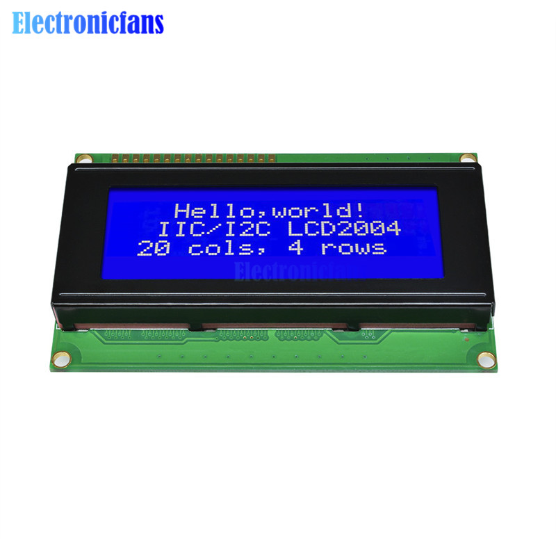 New 2004 204 20X4 Character LCD Display Module Blue Blacklight