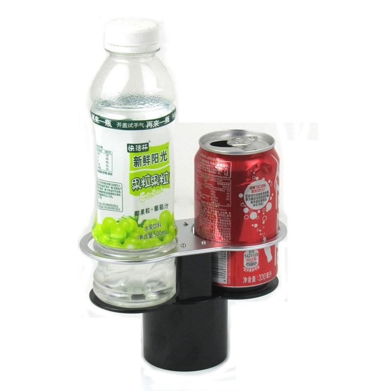 Автомобильный держатель для чашки с двойными отверстиями, автомобильный держатель для напитков, воды, напитки в бутылках, подставка для кофе, органайзер для автомобиля, черные автомобильные принадлежности