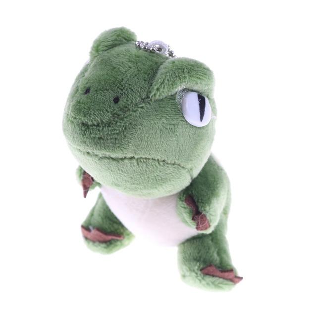 10cm Cute Kawaii Stuffed Dinosaur Plush Toys Bag Backpack Pendant Keychain Animals Kids Toys for Children Birthday Gift Doll