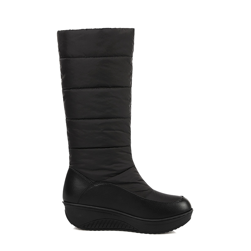 Office & School Supplies Wetkiss Genuine Leather Keep Warm Down Winter Boots Women Thick Plush Snow Boots Skidproof Wedges Platform Shoes Woman 2019