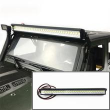 36 LED Light Super Bright Roof Bar for 1:10 RC Crawler Jeep Wrangler TRX4 SCX10 90046 D90 RC Car Accessories
