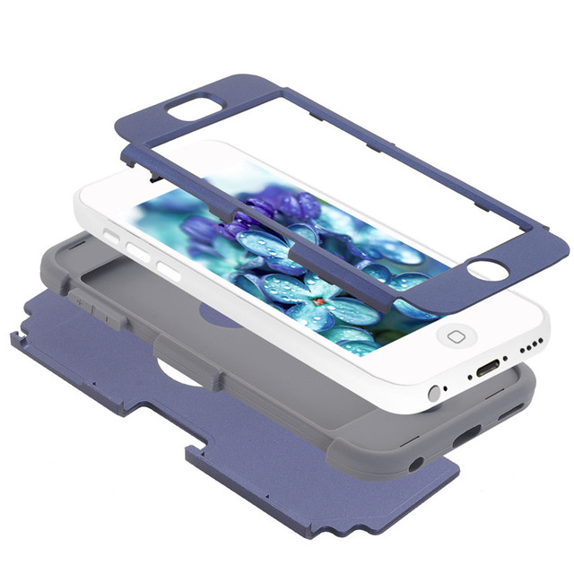 For apple iPhone 5C Shockproof Protect Case