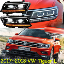 HID, 2017 ~ 2018, автомобилей Стайлинг для Tiguan фар, sharan, Golf6, routan, saveiro, поло, passat, magotan, Tiguan фара