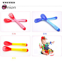 Baby Feeding Spoon fork Flatware Tableware Sucker Bowl Spoon Set Toddler Lid Slip-resistant children Dinner Cup Toddler Pacifier(China)