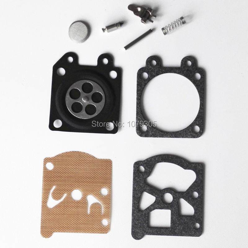 10 Sets Carburetor Repair Kit For 4500 5200 5800 Chainsaw Replacement Parts