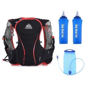 Mochila AONIJIE 5L para correr, mochila de hidratación para exterior, bolsa de deporte, bolsa de agua súper ligera, chaleco para correr para ciclismo, escalada, Camping