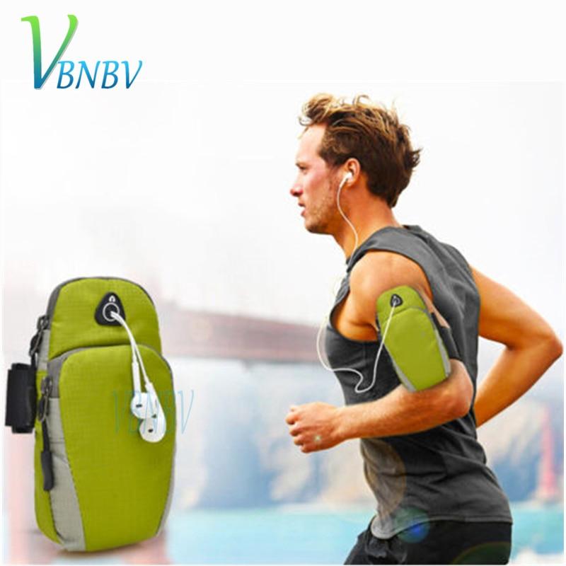 VBNBV Sports Running Armband Bag Case Cover Running armband Universal Waterproof Sport phone Holder Outdoor Sport Phone Arm pou