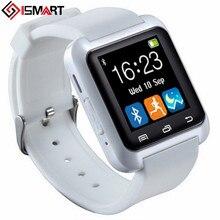 Digital-uhr Drahtlose Bluetooth Smart Uhr U8 U Sport Pedometer Freisprecheinrichtung Smartwatch U80 Armband für Android Telefon pk dz09