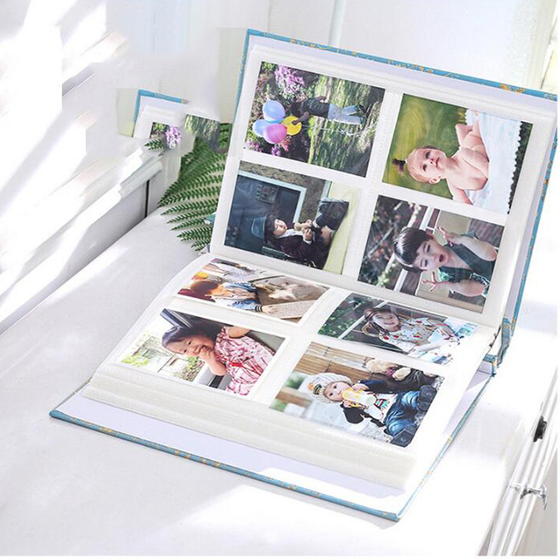 Panorama large 6 inch album book 200 page scrapbook paper baby home decoration albums wedding album clip art albums collection in Photo Albums from Home Garden