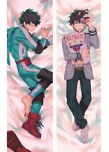 Japan Anime Boku no hero academia Pillow Cover Case Hugging Body pillowcase BL