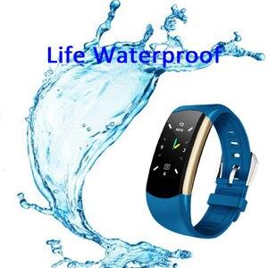 Image 4 - HORUG Bracelet intelligent de remise en forme Bracelet de Fitness Tracker Bracelet intelligent activité pression artérielle podomètre Sport moniteur de fréquence cardiaque