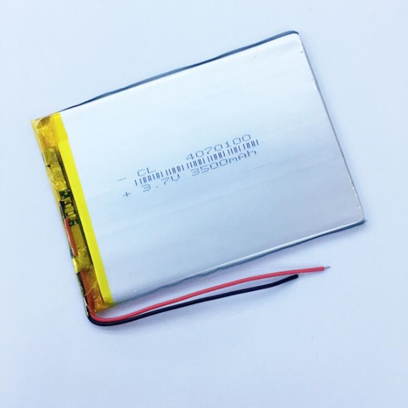 3.7V 3500MAH <font><b>4070100</b></font> Lithium polymer Battery with protection board For MID 7/8/9inch Tablet PC MP5 GPS PSP E-book Tablet PC mobi image