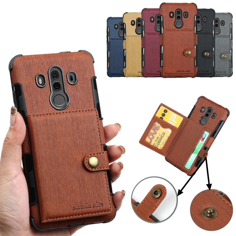 Wallet Phone Bag Case for Huawei Mate 10 Pro Lite Y3 Nova 2i Leather Cover  for Huawei P9 P20 Pro Lite Maimang 6 Honor 9i Cases