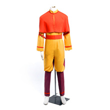Anime Avatar The Last Airbender Bumi Aang Cosplay Costume Custom Made Any Size