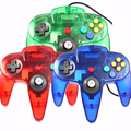 Wired Controller Joystick Gamepad Para Nintendo Gamecube N64 Controlador con Interfaz USB O N64 Para PC Mac Controle