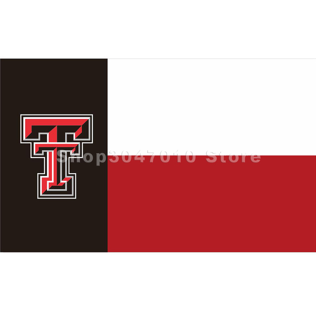 Texas Tech Red Raiders State Of Flag Large 3x5 Custom Banner In