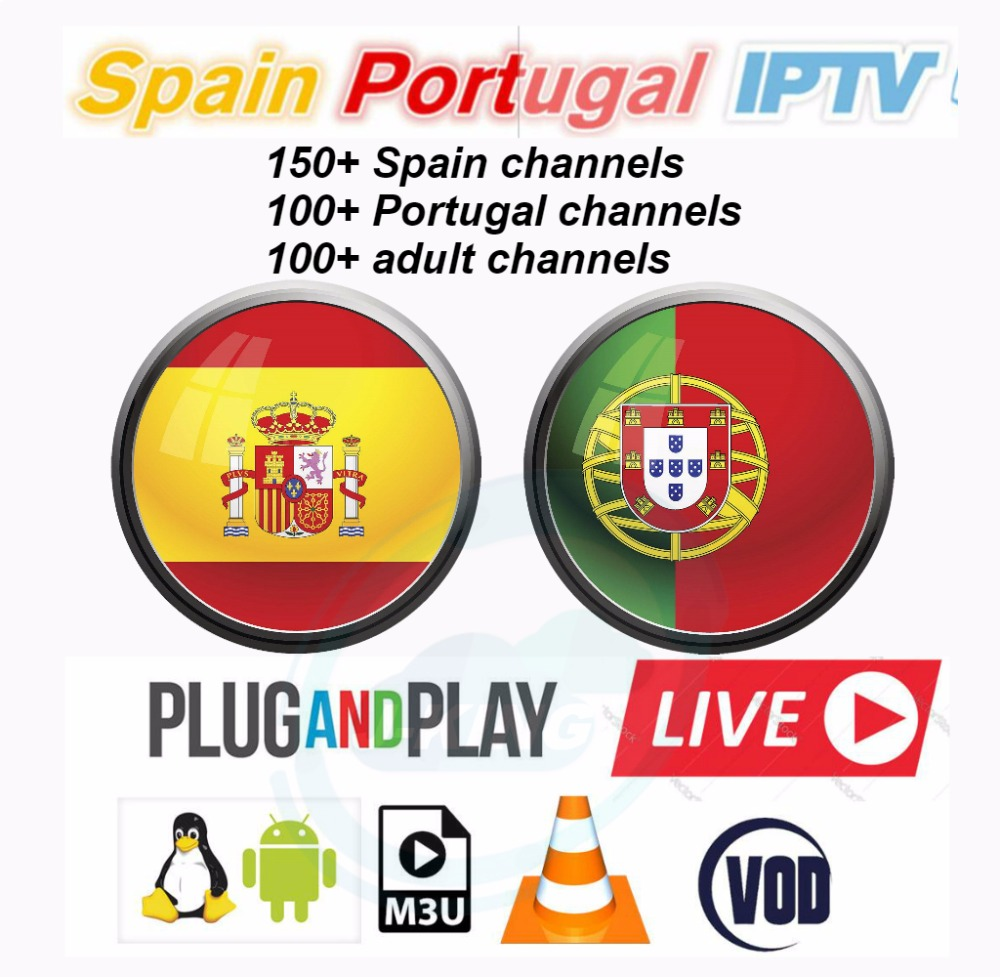 S10 Spanje IPTV Spaanse Kanaal M3u Abonnement Iptv UK Italie Spaans Frankrijk Duitsland Portugal For Android Box Enigma2 M3u