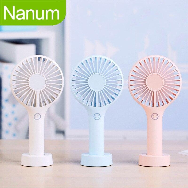 Small Fan Small Usb Portable Silent Energy Saving Student Fan Desktop Wind And Cold Wind Millet Cute Mini Fan Vh Home Appliances