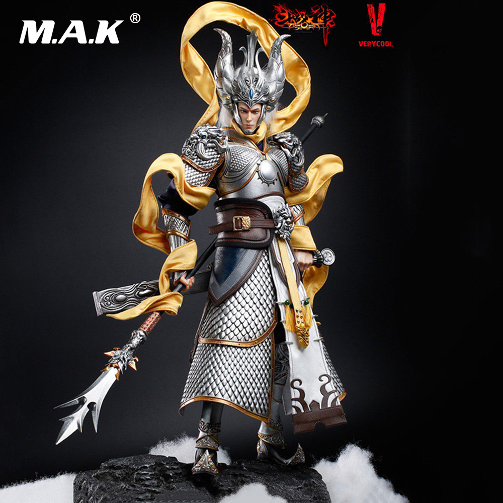 1/6 Scale Collectable VERYCOOL DZS-004 Asura Series Exiled God action figure Collectible Model Toys 5 pack home off white silver tone magnetic catch door stopper