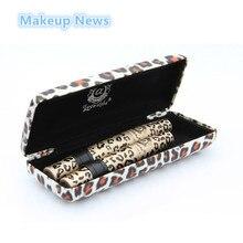 1set 2pcs Love Alpha 3d FIBER LASHES Mascara rimel makeup set maquiagem Wild Leopard waterproof double mascara For Eyelashes