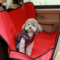 Hot Sale Seat Cover Different Colors Waterproof Car Seat Cover For Pets Dog Cat Puppy Supplies