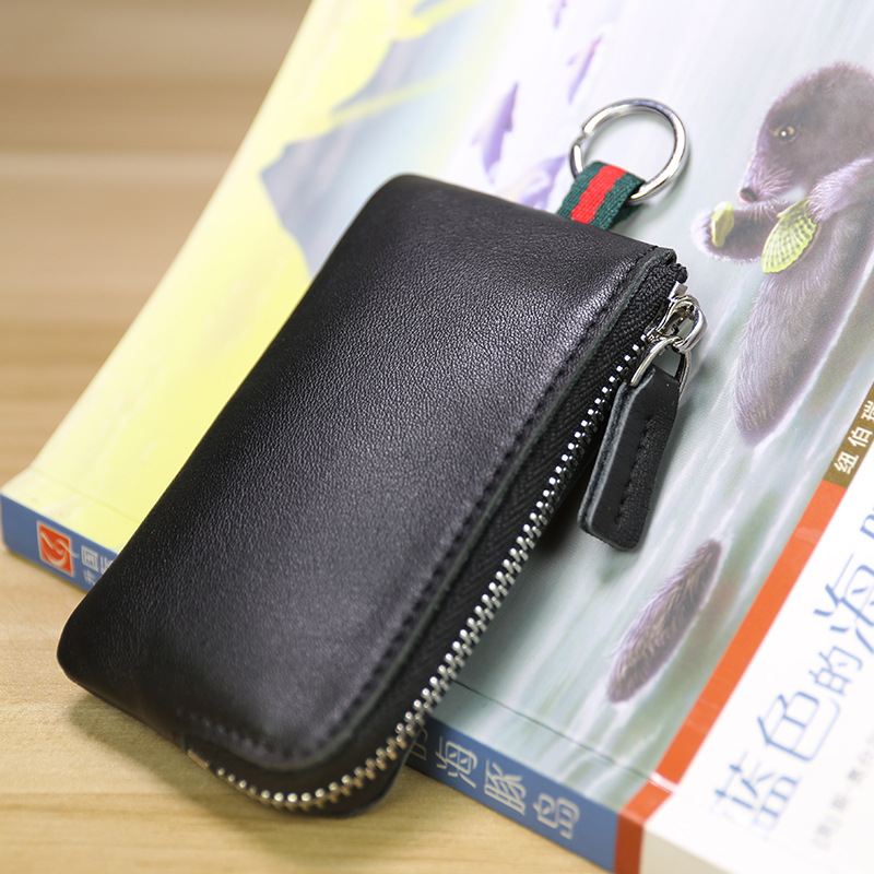 SIKU womens leather coin purses holders fashion key wallet fashion key holder