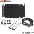 EPMAN Racing Car Series 8000 Type 13 Row Aluminum Plate & Fin Transmission Oil Cooler EP-AETOC677