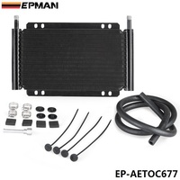 EPMAN Racing Car Series 8000 Type 13 Row Aluminum Plate Fin Transmission Oil Cooler EP AETOC677