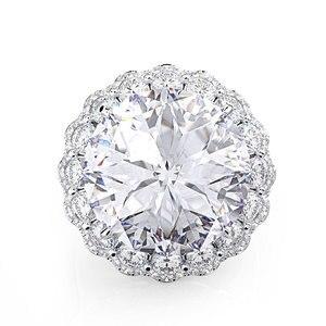 Image 4 - Wong Rain Anillos de Compromiso de piedras preciosas de moissanita para boda, joyería fina, Vintage, 100%, Plata de Ley 925, venta al por mayor
