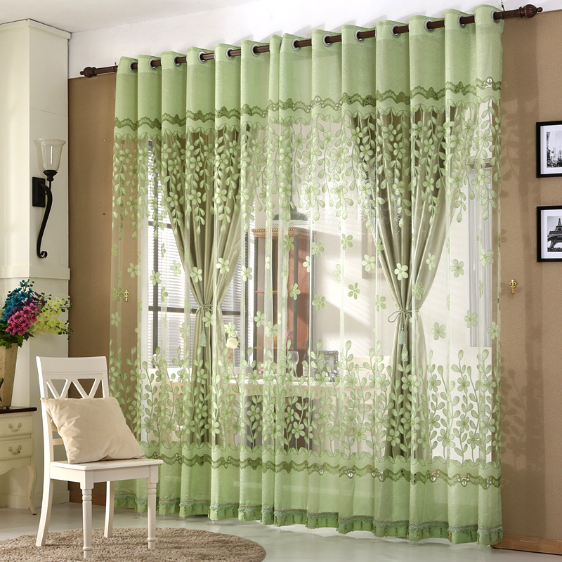 European Luxury Window Curtains For Living Room Royal Sheer Curtains For  Bedroom Elegent Tulle And Curtains For Children In Curtains From Home U0026  Garden On ...