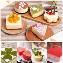 TTLIFE 3 In Heart-Shaped//Square Stainless Steel Rice Ball Mould Cookie Cutter Pudding Jelly Foundant Biscuit Mold Baking Tools