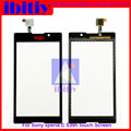 "high quality 5.0""For Sony Xperia C S39H C2304 C2305 Touch Screen Digitizer Sensor Glass Lens Panel Free shipping"