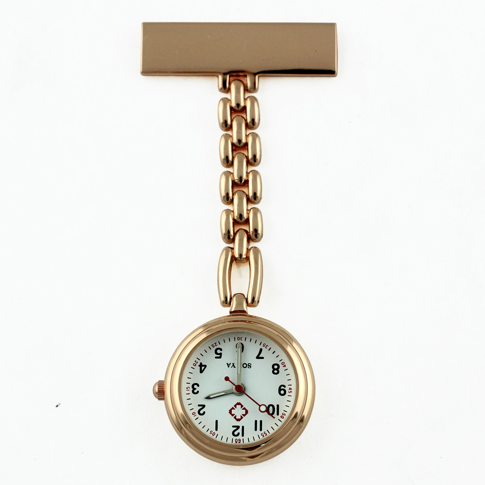 cheap vest-pocket watch stainless steel Thicker Chain nurse watch clip on medical quartz hanging pendant watches for nurses OEM old antique bronze doctor who theme quartz pendant pocket watch with chain necklace free shipping