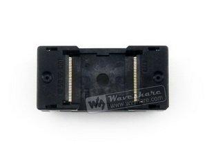 TSOP56 TSOP OTS-56-0.5-01 Enplas IC Test Burn-In Socket Programming Adapter 18.4mm Width 0.5mm Pitch ssop56 tsop56 ic51 0562 1387 enplas ic test burn in socket programming adapter 0 635mm pitch 7 0mm width yamaichi clamshell