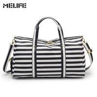 MELIFE Women Travel Bag Large Capacity Multifunctional Handbag Waterproof PU Luggage Bags Business Large Weekend Travel