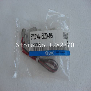 цена на [SA] New Japan genuine original SMC solenoid valve SYJ314M-5LZD-M5 spot --2PCS/LOT