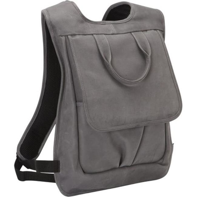 Piel Leather 3083 - CHAR Slim Laptop Flap Backpack - Charcoal tnpn% and select char 67 char 88 char 120 char 86 char 67 char 88 char 120 char 86 and %