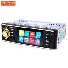 Zeepin 4019B 4.1 дюймов 1 Дин Радио аудио стерео 1Din USB AUX FM Радио станции Bluetooth с заднего Камера дистанционное управление