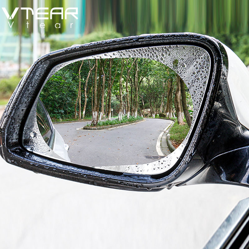 Eternitry Car Rearview Rain-Proof Film A Pair A Variety of Size Specifications Outstanding Mirror Waterproof and Anti-Fog Rain-Proof Film Side Window Glass Film